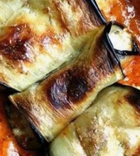Cannelloni de Berinjela