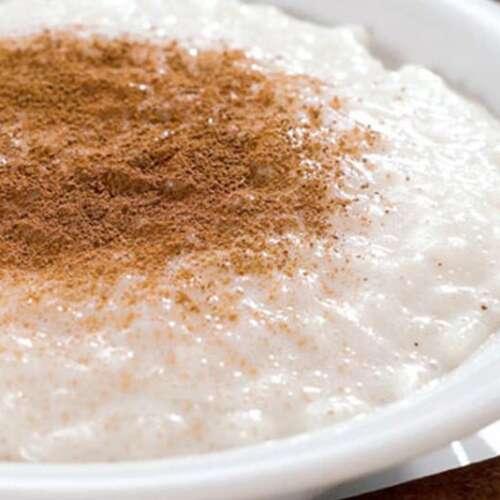 como fazer arroz doce tradicional