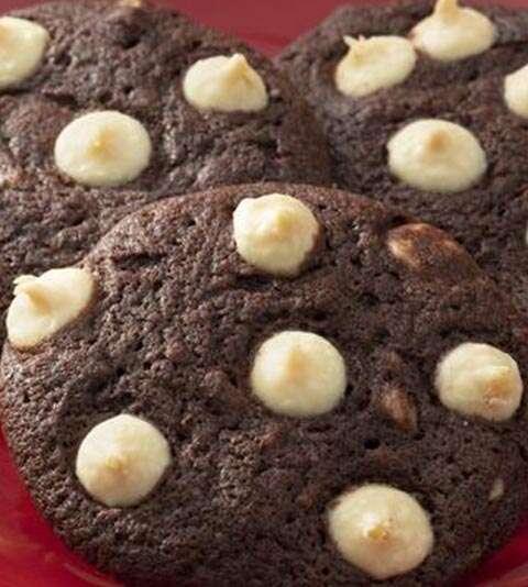 receita de cookies de chocolate com gotas de chocolate