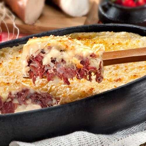 receita de escondidinho de carne seca com batata
