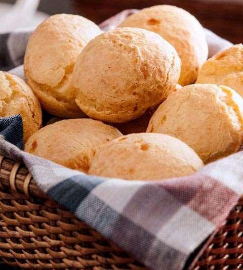 como fazer pão de queijo na airfryer